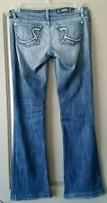 Rock & Republic Jeans 'Jagger' Med/Light Wash Low-Rise Made in the USA Size 26