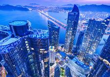 BUSAN SOUTH KOREA NEW A1 CANVAS GICLEE ART PRINT POSTER