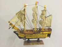 New Detailed Wooden Model of HMS VICTORY Historic Collectable Ship Gift for Men
