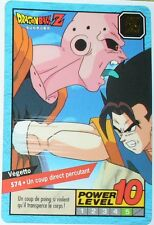 CARTE DRAGON BALL GT N-¦ 574 VEGETTO POWER LEVEL 10 VERSION FRANCAISE
