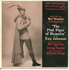"""Music from The Pied Piper of Hamelin"" Van Johnson / 7"" Record / RCA  #EPA-4189"