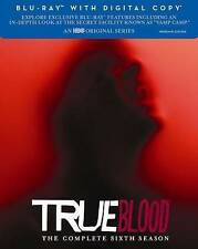 True Blood: The Complete Sixth Season (Blu-ray Disc, 2014, 4-Disc Set, Includes