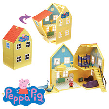 NEW PEPPA PIG DELUXE PLAYHOUSE
