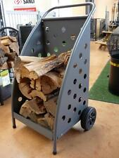 WOOD TROLLEY CARTING FIREWOOD DELUXE Brand New FIRE PLACE / WOOD HEATER