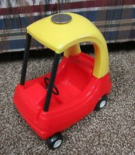 Little Tikes Dollhouse Size Crazy Coupe car vehicle doors wheel cute 7 x 5 inch
