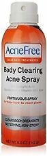 AcneFree Body Clearing Acne Spray, 5 Ounce