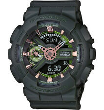 Casio G-Shock Military Matte Green Subdued Look Fashion Watch GMAS110CM-3A
