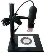 5.0Mp 10-220X 8 LED USB Digital Microscope Endoscope Otoscope Camera with Stand