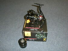 Browning Argon 330 FD Front Drag Fishing Reel + Spare Spool Fishing tackle