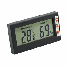 New Digital LCD Thermometer Hygrometer Temperature Humidity Meter Gauge BY
