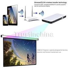 Mini HD 1080P LED DLP Pocket HD 1080P Projector USB WIFI Bluetooth Home Cinema