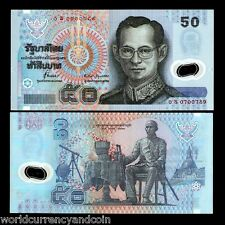 THAILAND 50 BAHT P102a 1997 REPLACEMENT OS POLYMER SIGN71 UNC KING MONEY NOTE