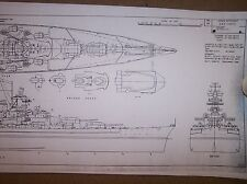 TIRPITZ battleship plans