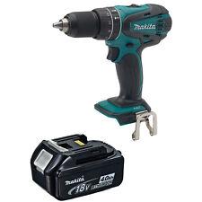 Makita XPH01Z 18v Cordless Hammer Drill Driver 4.0 Ah BL1840 Battery w/Indicator