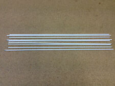 ** Flux Coated Brazing Rods 1.6mm x 300mm 9 off ** General Purpose **
