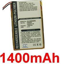 Batterie Li-Polymer 1400mAh Pour PALM Tungsten E TYPE UP383562A A6