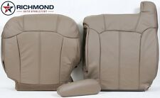 2001 Chevy Silverado -Driver Side COMPLETE Replacement Leather Seat Covers Tan-