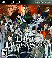 Lost Dimension (Sony PlayStation 3, 2015) BRAND NEW SEALED