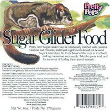 Pretty Pets Sugar Glider Food (2 Pack of 12oz Bags) 24oz Total