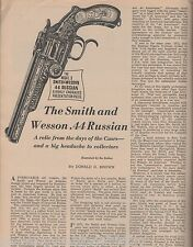 Smith & Wesson .44 Russian+Alexis,Brown,Cody,Custer,Caar,Sheridan,Spotted Tail