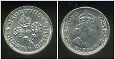 ILE MAURICE   quarter 1/4 de  rupee  1978