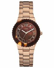 Guess Women's Rose Gold Tone Plated Stainless Steel Watch - W0468L1