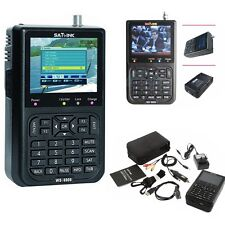 "3.5"" WS-6906 Satellite Signal Finder LCD SATlink DVB-S FTA Data Digital Meter H"