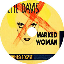 Marked Woman - Bette Davis Humphrey Bogart Lola Lane rare 1937