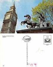 England - Big Ben and boadicea Statue London (S-L XX447)