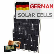 100W 12V dual battery solar panel kit for camper / motorhome / caravan / boat