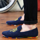 Fashion Men suede Flats Zapato Driving Moccasin Casual Sneakers loafer Shoes NB4