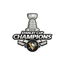 Pittsburgh Penguins Hockey NHL 2016 Stanley Cup Champions Collector Trading Pin