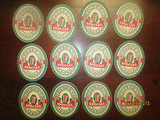 12 FOSTERS SPECIAL BITTER collectable  COASTERS No More 1990,s