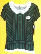 Disney Haunted Mansion Maid Ghost Host Hostess Tee T Shirt Costume Size Large