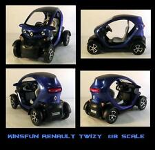 Kinsmart Kinsfun Renault Twizy Electric diecast replica  1:18 scale # 5111D - BL
