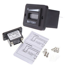 New 36 Volt LED Golf Cart Battery Charge Indicator Gauge Meter w/ Accessories