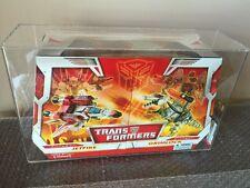 2007 Hasbro Transformers Classics Twin Pack Jetfire Vs Grimlock Stunning AFA U90