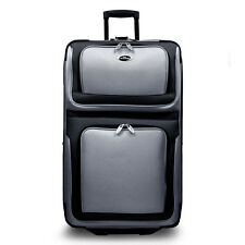 "New Yorker Silver 29"" Expandble Rolling Luggage Wheeled Suitcase Travel Bag"