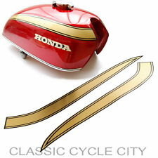 Honda CB 750 cuatro k1 Tank Tank decoración manicure decoración oro Tank Decals Stripes