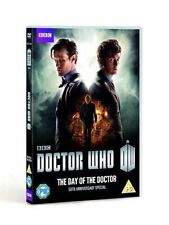 Doctor Who - The Day Of The Doctor - 50th Anniversary Release (DVD, 2013) SEALED