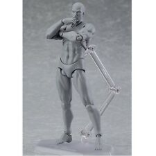 Figma Action Figure Series HE 15th Anniversary Gray Color Ver. PVC Figure No Box