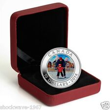 2014 1/2 oz. Fine Silver Coin - Learning to Skate - Skating In Canada