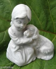 latex mold girl with puppy latex mold rubber latex casting mold cement plaster