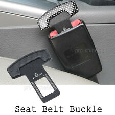 Car Safety Seat Belt Buckle Alarm Stopper Eliminator Clip Stop Warning Universal