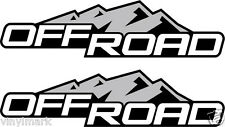 2004-2012 4x2 Decals Stickers for Chevy Colorado Xtreme GMC Canyon Bedside
