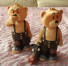 BAD TASTE BEARS Figurines en résine N° 55 et 56 collector