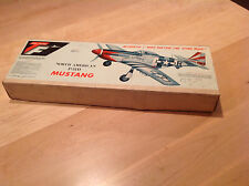Vintage Top Flite North American P-51D Mustang Model Airplane BOX ONLY