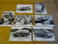 TOYOTA LANDCRUISER ORIGINAL PRESS PHOTOS x 7 Brochure Related jm