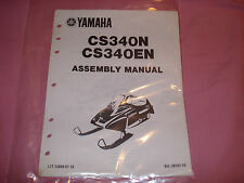 Yamaha 1989 CS340N CS340EN Assembly Manual LIT-12668-01-10