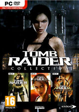 Tomb Raider Collection Edition PC Legend Underworld Anniversary 3 Pack Brand New